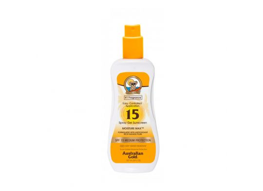 Spray Gel Sunscreen SPF15