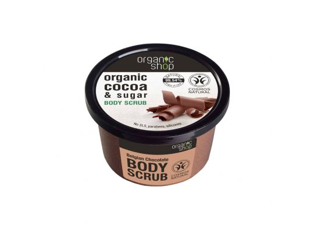 Scrub corpo Belgian Chocolate