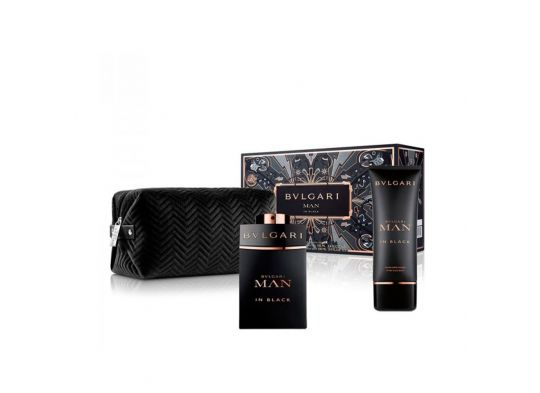 Cofanetto Man in Black Edp con minisize e pouch uomo