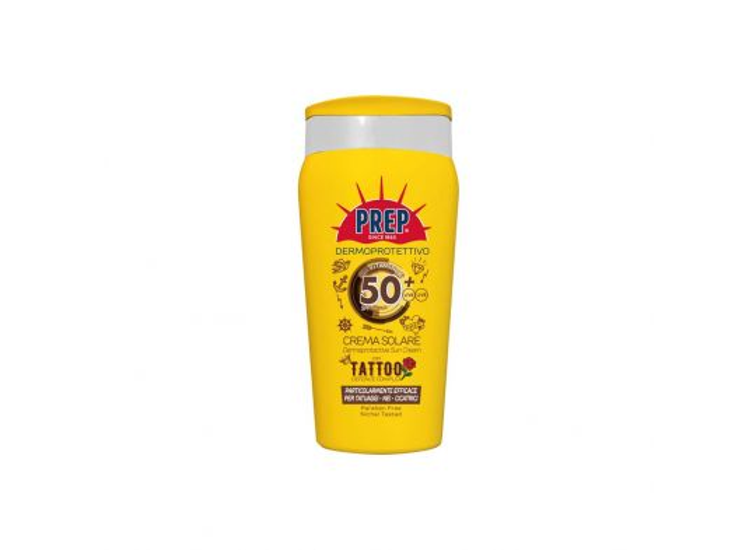 Crema Solare spf50 con Tattoo Defense Complex